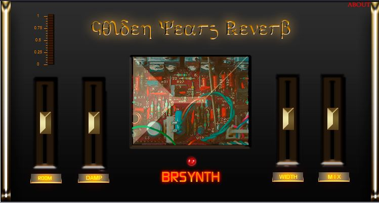 Golden Years Reverb - BE - Black Edition