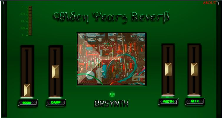 Golden Years Reverb - GV - Green version