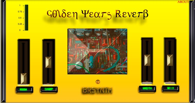 Golden Years Reverb - YV - Yellow version