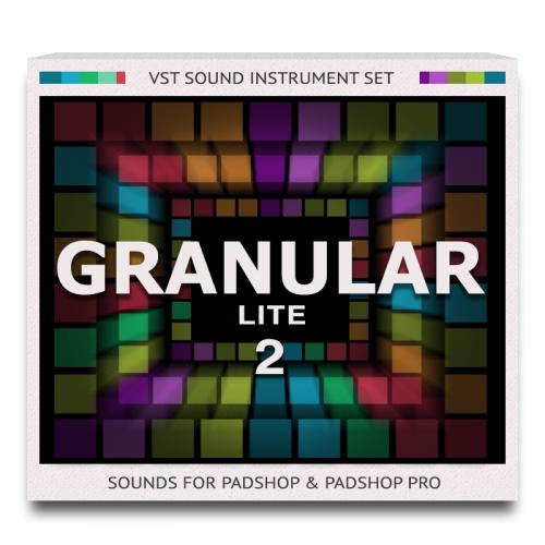 Granular Lite 2 Sound Set for PadShop and PadShop Pro