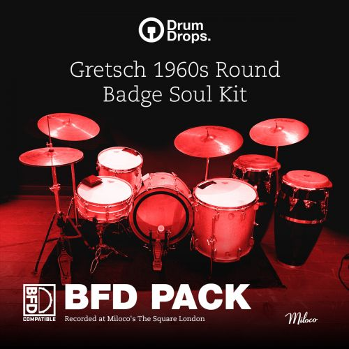 Gretsch 1960s Round Badge Soul Kit - BFD Pack