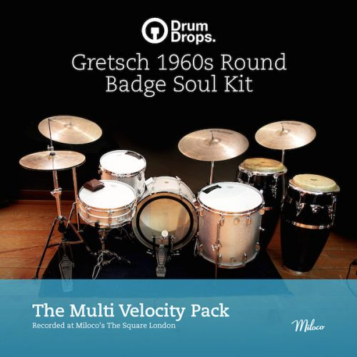 Gretsch 1960s Round Badge Soul Kit - Multi-Velocity Pack