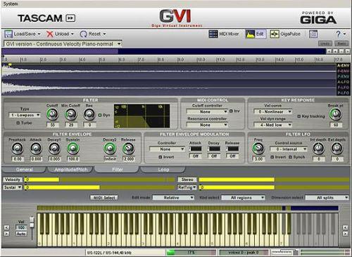GVI (Giga Virtual Instrument)
