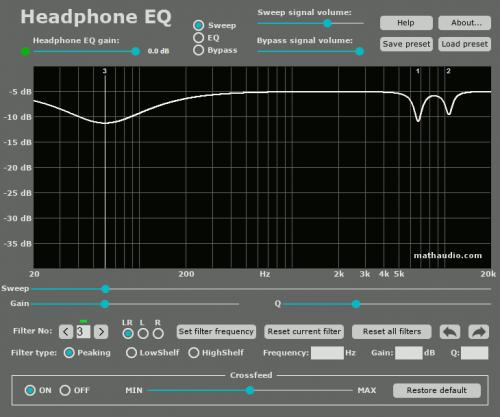 Headphone EQ