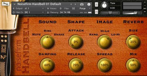 Noisefirm Handbell