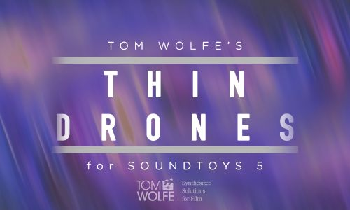 Thin Drones for Soundtoys Effect Rack