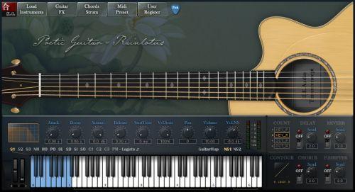 Poetic Guitar-Rainlotus (PGR)