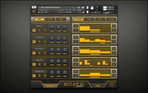 Hexa Rhythm Designer