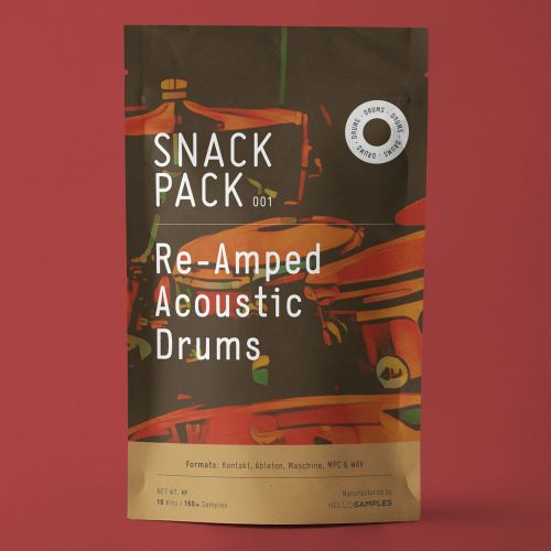 Snack Pack 001 - Re-Amped Acoustic Drums