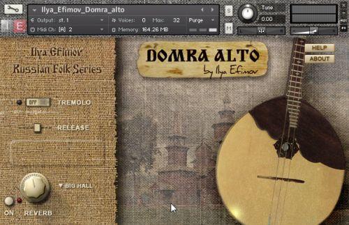 Ilya Efimov Domra Alto