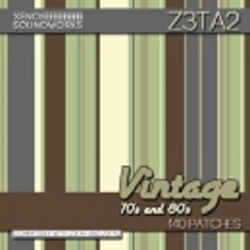 Vintage 70s and 80s for Z3ta+ and Z3ta 2