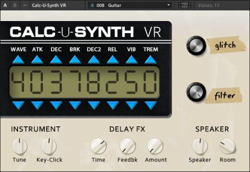 Calc-U-Synth VR