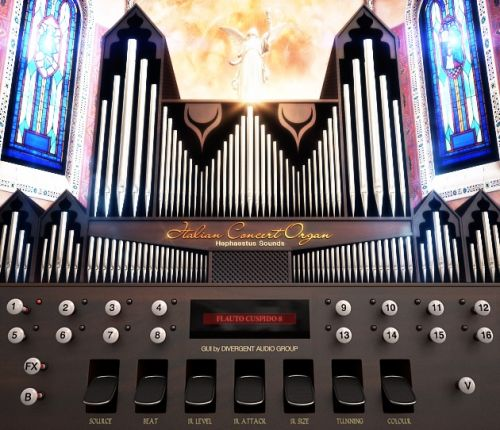 Italian Concert Organ