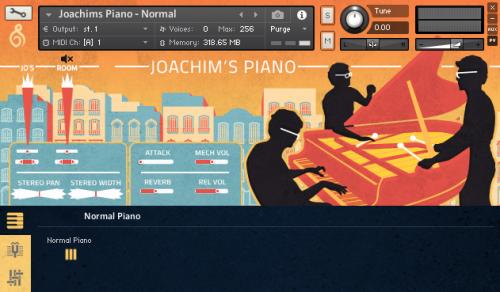 Joachim's Piano