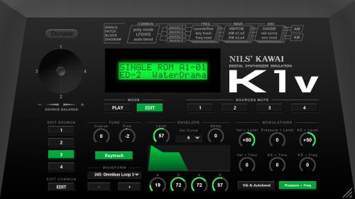 Nils K1v Single Edit