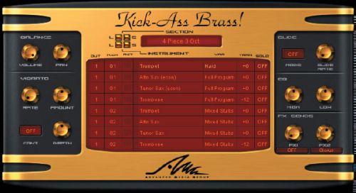 Kick-Ass Brass!