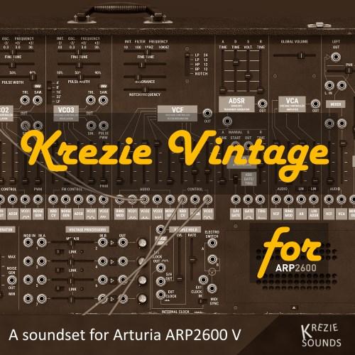 Krezie Vintage for ARP2600 V