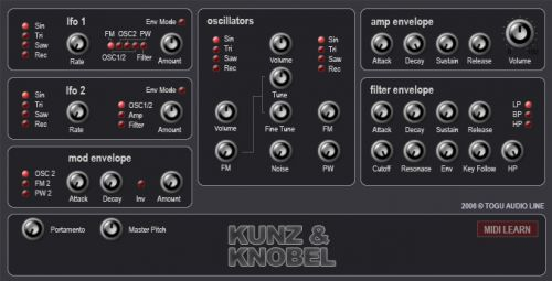 Real Synth / Kunz & Knobel