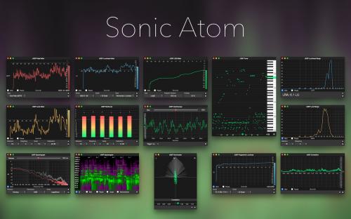 Sonic Atom - Realtime Audio Meters