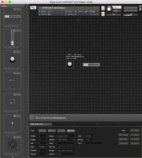 Kontakt GUI Maker