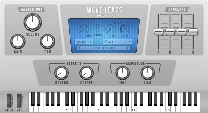 Wave Leads Virtual Instrument Plugin - (Pc/Mac VST, AU)