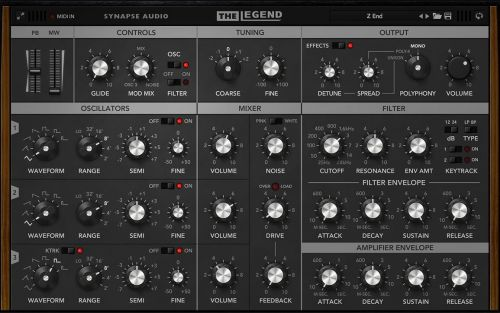 Synapse The Legend Sound Library