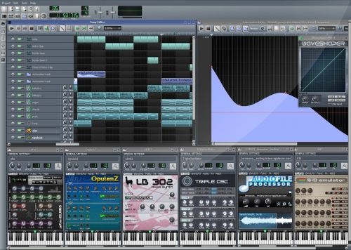 Linux MultiMedia Studio (LMMS)