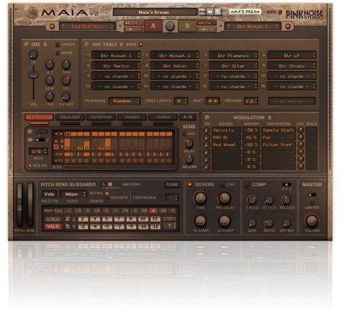 Maia Dual Synthesizer