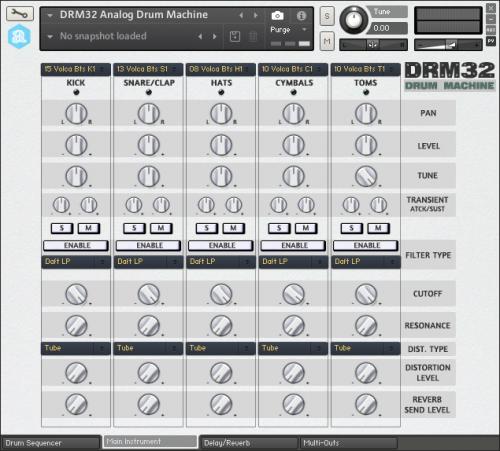 Autodafe DRM32 Analog Drum Machine