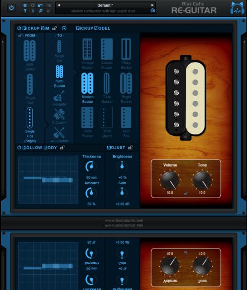 Blue Cat Re-Guitar