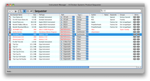 Instrument Manager