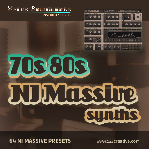 70s and 80s Synths - Retro Massive presets