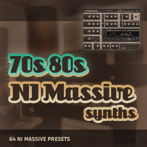 70s and 80s Synths for Massive