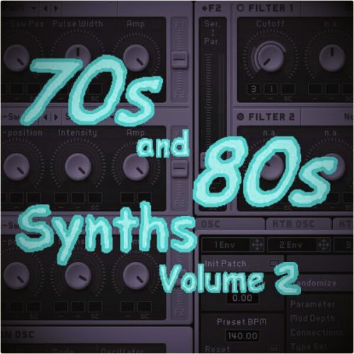 '70s and 80s Synths Volume 2' for N.I. Massive