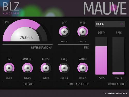 MauveFx Reverb