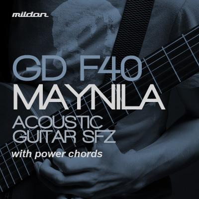GD-F40 Maynila Acoustic Guitar SFZ