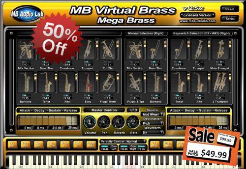 MB Virtual Brass Mega Brass