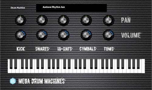 Autodafe Mega Drum Machines