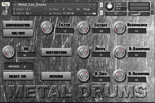 Metal Can Drums