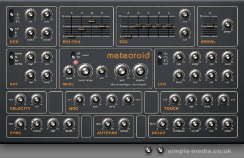 Planetoid & Meteoroid VST Package