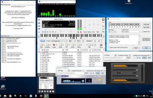 Soundfont MIDI Player