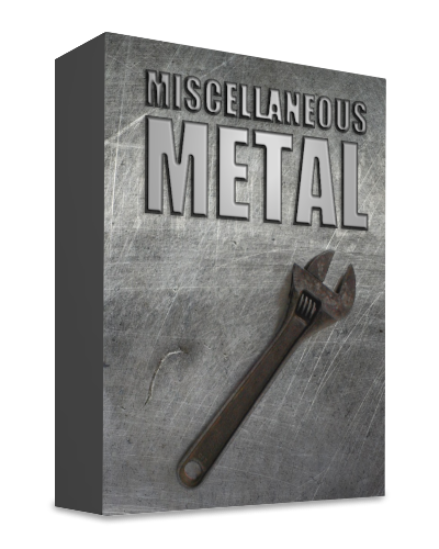 Miscellaneous Metal (Percussive SFZ)
