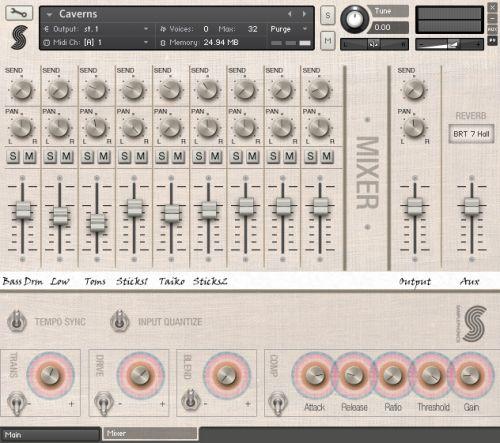World Percussion Soundtrack Mixer