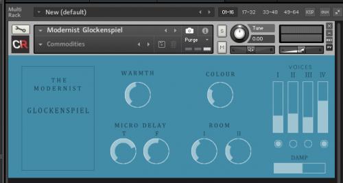 The Modernist Glockenspiel