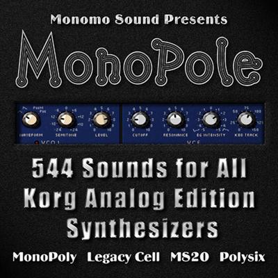 MonoPole Soundset for Korg Analog Edition