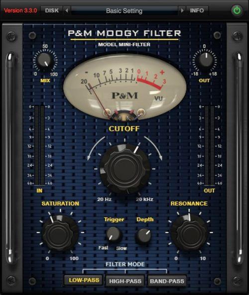 P&M Moogy Filter