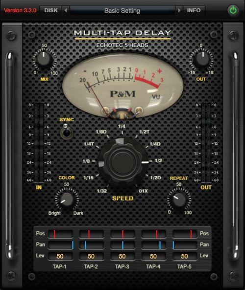 P&M Multi-Tap Delay