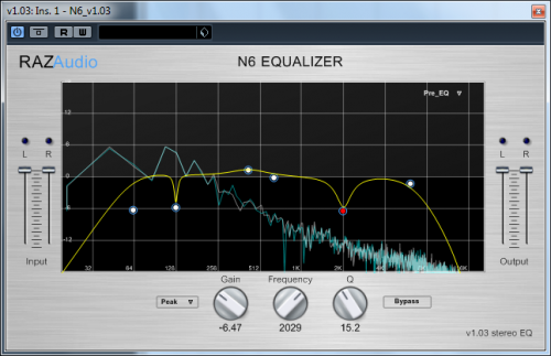 N6 Paragraphic Equalizer