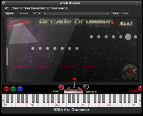 Nova Drum Unit: Arcade Drummer