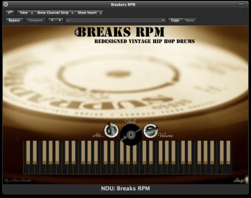 Nova Drum Unit: Breaks RPM